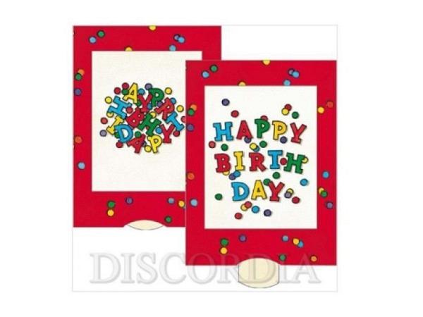 Geburtstagskarte Die Lebende Karte Happy Birthday
