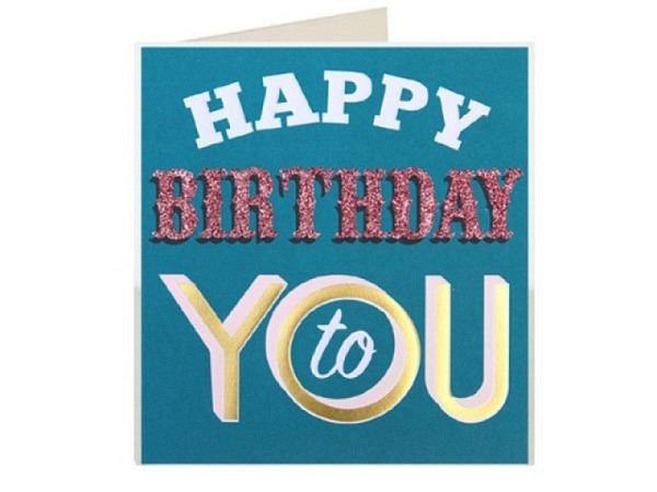 Geburtstagskarte Caroline Gardner Palm Springs Happy Birthday to you