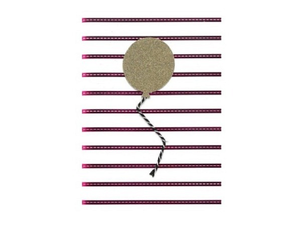 Glückwunschkarte Hallmark Royal Ballon 11,5x18cm