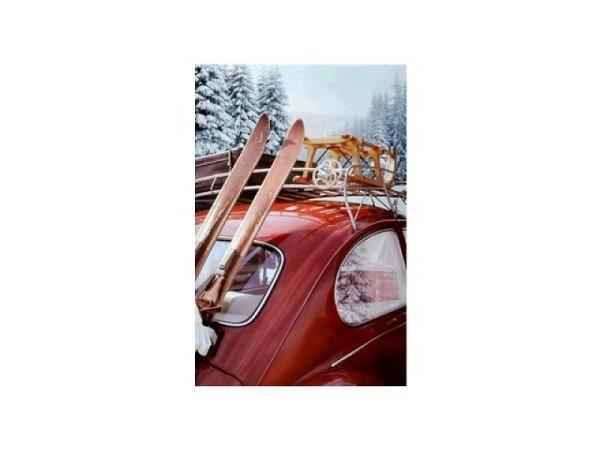 Karte ABC Winterkarte Kerzen Deko 12x17,5cm