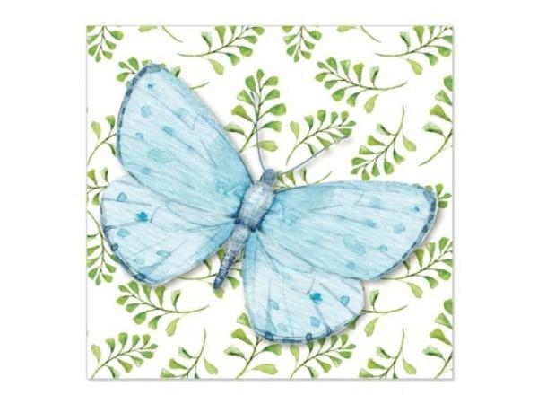 Karte Artebene Mini Schmetterling 8x8cm