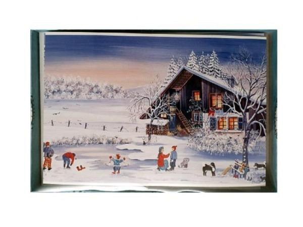 Kartenbox Stadler Ursula Wintermotive 5 Doppelkarten