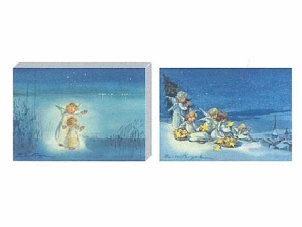 Kartenbox Art Bula 5er Set 12,2x17,2cm zwei Engel