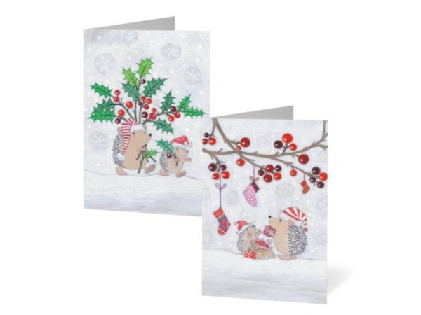 Geschenkumschlag Stewo Encanto weiss 23x11cm, Schriftzug Merry Christmas