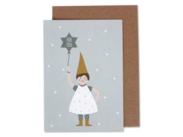 Weihnachtskarte Lili Gutschein persönlich bewegter Weihnachtsgruss