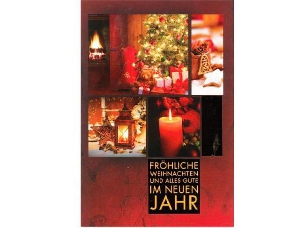 Abc Weihnachtskarten.Weihnachtskarte Abc Weihnachtsbilder Rot