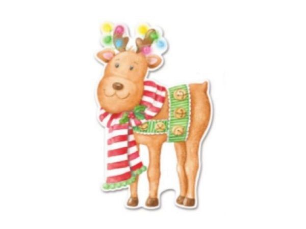 Weihnachtskartenbox Carol Wilson 10er Set Reindeer Rudolph
