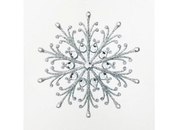 Karte Hervorragend Jaab Cards Silberkarten Christmas Snowflake