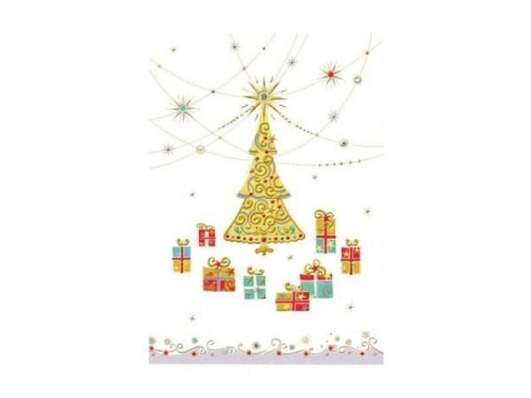 Weihnachtskarte Turnowsky Weihnachts-Mobil 12x17,5cm