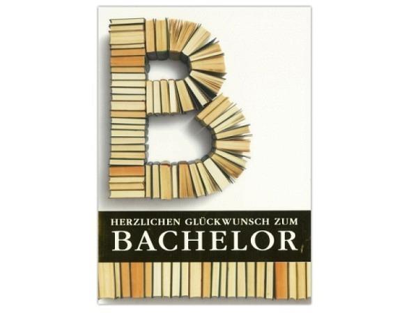 Karte ABC zum Bachelor 12,5x17,5cm