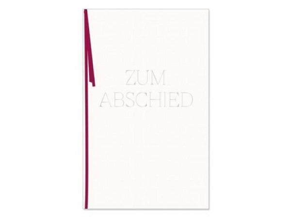 Abschiedskarte Artebene Business Line 11,5x17cm B6