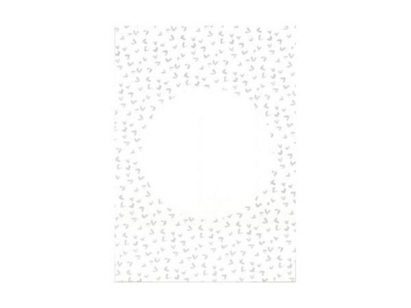 Postkarte Photoglob E6, Doppelkarte, Luzern bei Nacht, Kapellbrücke
