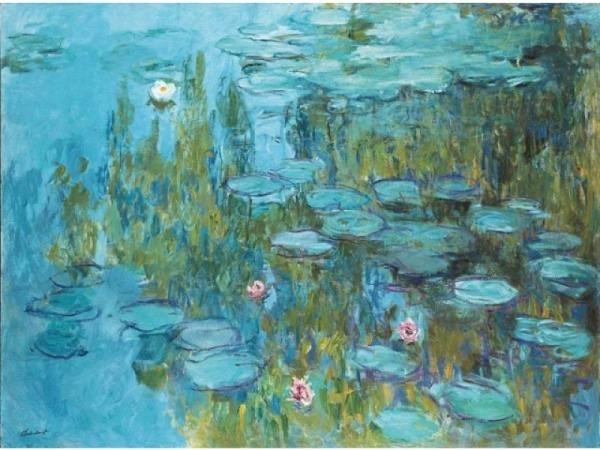 Postkarte Kunstverlag Claude Monet Seerosen…