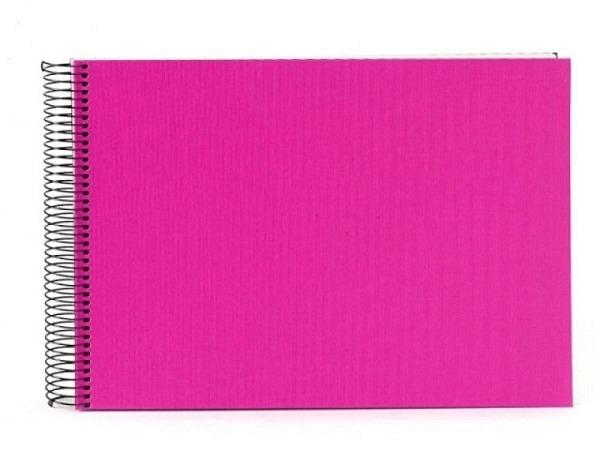 Fotoalbum Goldbuch Bella Vista Spiralalbum 23x17cm White pink