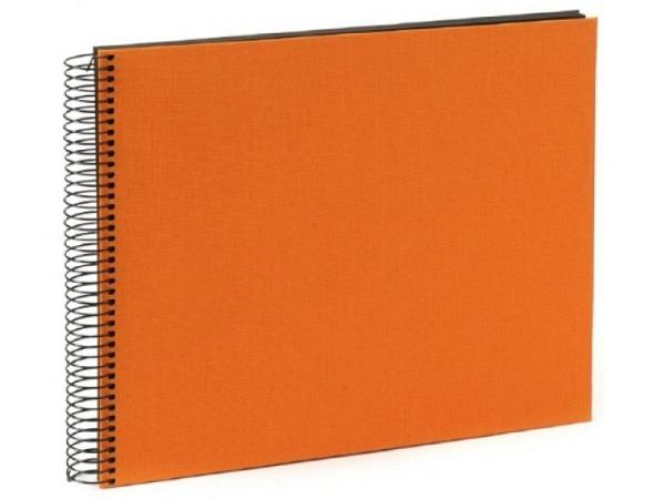 Fotoalbum Goldbuch Bella Vista Spiralalbum 34x30cm White orange