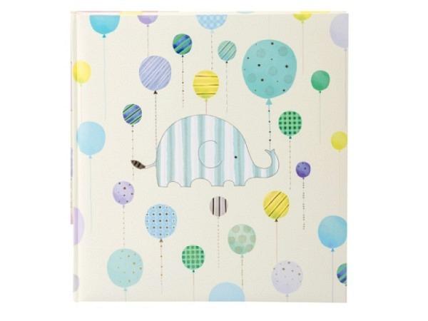 Fotoalbum Goldbuch Turnowsky Happy Elephant blue 30x31cm