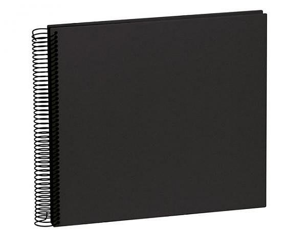 Fotoalbum Semikolon Economy Medium 23x24,5cm Black schwarz
