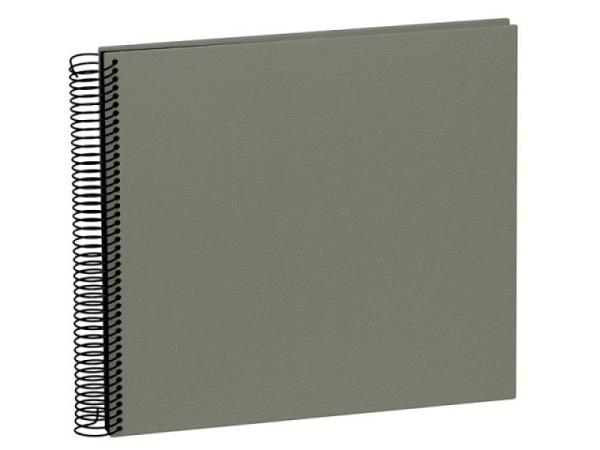 Fotoalbum Semikolon Economy Medium 23x24,5cm Black helllgrau