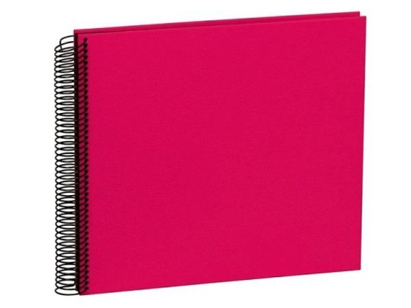 Fotoalbum Semikolon Economy Medium 23x24,5cm Black pink