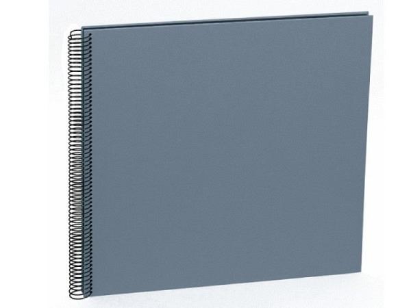 Fotoalbum Semikolon Economy Large 34,5x33cm Black hellgrau