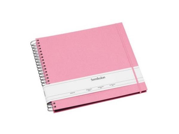 Fotoalbum Semikolon Pocket 22,5x32,8cm pink