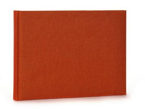 Fotoalbum Goldbuch Summertime orange, 22x16cm, orange Leinen