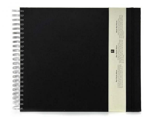 Fotoalbum Semikolon Maxi Mucho 34,5x30cm schwarz