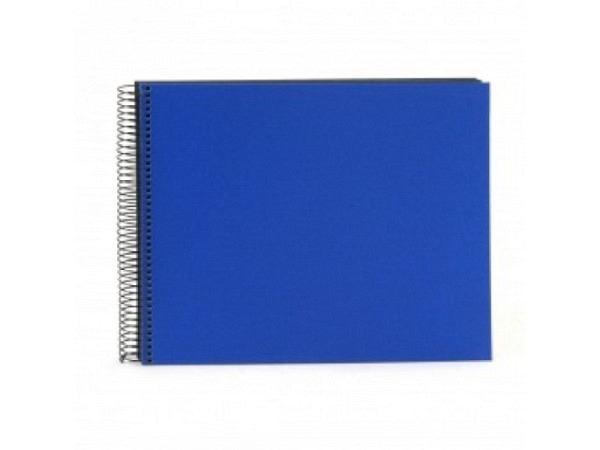 Fotoalbum Goldbuch Bella Vista Spiralalbum 34x30cm Black blau