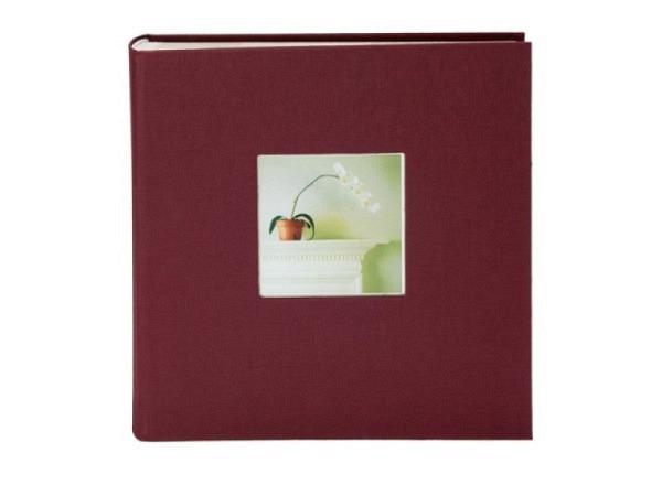 Fotoalbum Goldbuch Bella Vista Einsteckalbum bordeaux Leinen