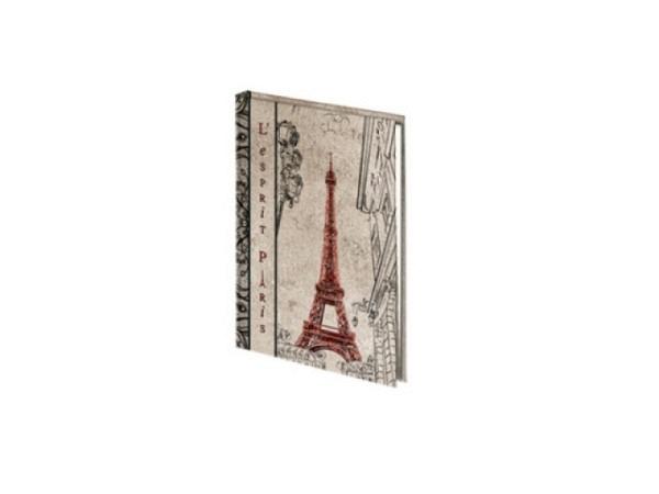 Adressbuch Exacompta A5 liniert, Eiffelturm von Paris