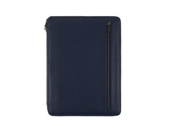 Blockmappe Filofax Microfiber violett A4 mit Reissverschluss