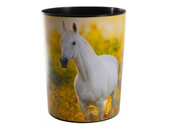 Abfallbehälter Ornalon schwarz für auf Papierkorb
