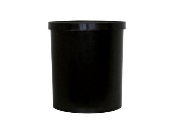 Papierkorb Büroline 18l Kunststoff 265x310mm schwarz