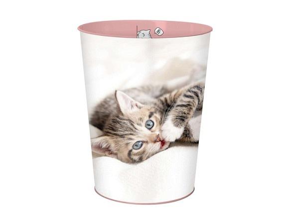 Papierkorb Büroline 18l Kunststoff 265x310mm rot