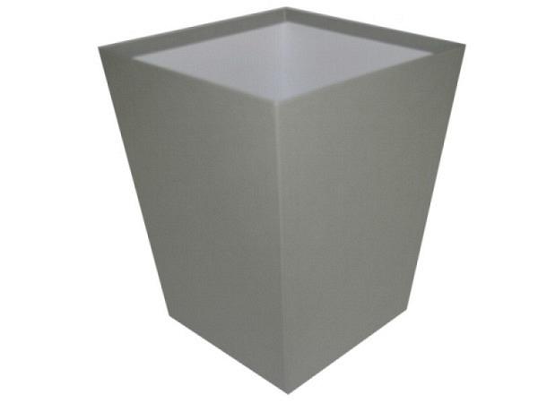 Papierkorb Bigso Box Papierbezug Sofia grau