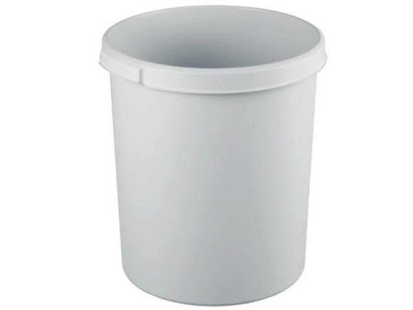 Papierkorb Han Moon lichtgrau, 30 Liter