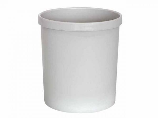 Papierkorb Büroline 18l Kunststoff 290x320mm grau