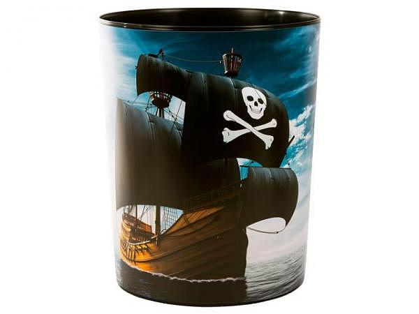 Papierkorb Goldbuch Piraten