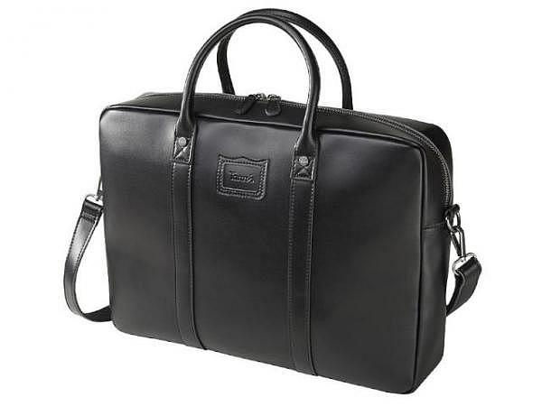 Tasche Tann's Paris schwarz, aus Leder