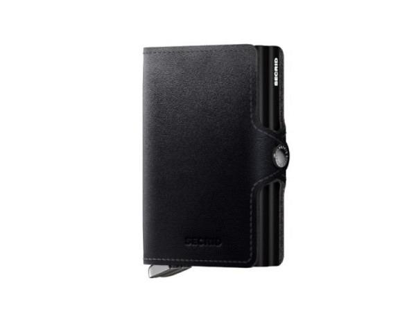 Kreditkartenetui Secrid Twinwallet vintage braun, europ�isches Leider, f�r 12 Karten, Vintage Leder