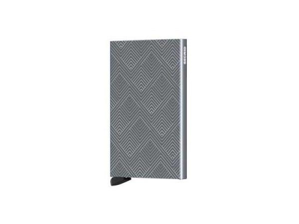 Kreditkartenetui Secrid Miniwallet Recycled Stone grau