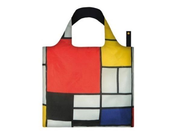 Tasche Loqi Piet Mondrian Composition 50x42cm