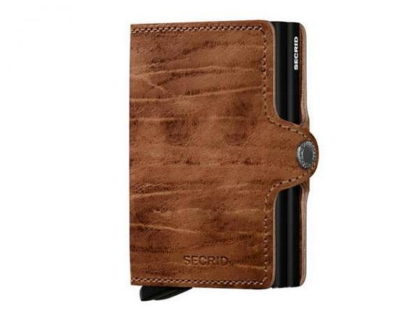 Kreditkartenetui Secrid Twinwallet Dutch Martin Whiskey