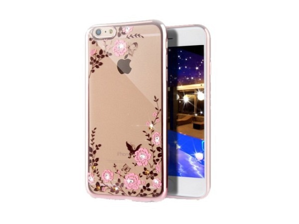 Handyhülle Blingmeister Rose Butterfly für Apple iPhone 7/8