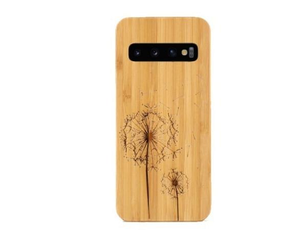 Handyhülle CouldBeWOOD Pusteblume für Samsung Galaxy S10+