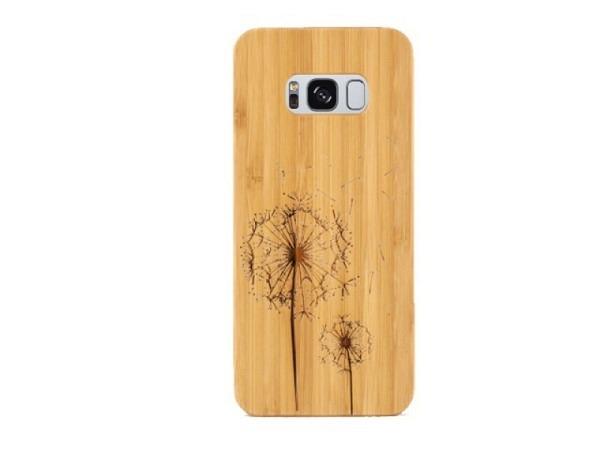 Handyhülle CouldBeWOOD Pusteblume für Samsung Galaxy S8