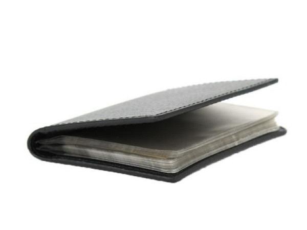 Kreditkartenetui Laurige Ligne Beaubourg schwarz für 12 Karten