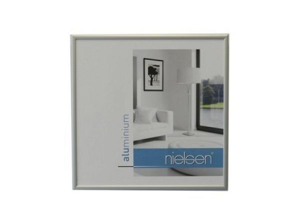 Rahmen Nielsen Classic Aluminium 30x30cm silber matt