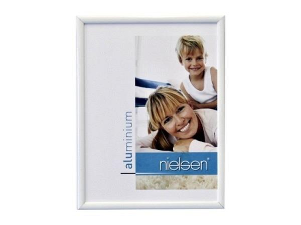 Rahmen Nielsen Classic Aluminium 30x40cm weiss glanz