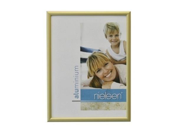 Rahmen Nielsen Classic Aluminium 18x24cm gold matt
